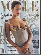 VOGUE MAGAZINE MARCH 2004 ANGELINA JOLIE US*