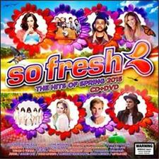 SO FRESH:THE HITS OF SPRING OF 2015-CD/DVD DOUBLE RELEASE ON11/09/2015-NEW