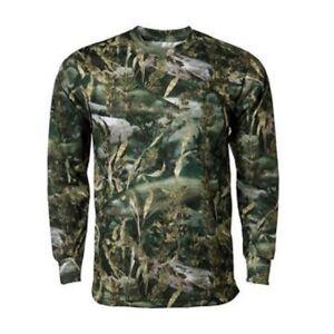 Fishouflage Walleye Fishing Performance Long Sleeve Men's Shirt, Camouflage