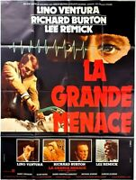 Cartel Cine El Grande Menace Lino Ventura Richard Burton - 120 X 160CM