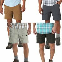 Mens Wrangler Cargo Stretch Quick Dry Shorts Hiker Spandex Cotton Pant 30-48