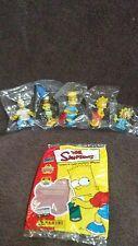 The Simpsons Family Mini PVC Figures Lot of 5 1999 NIB HARD TO FIND L@@K