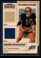 2017 Panini Contenders Draft Picks Football Old School Colors #15 Roger Staubach