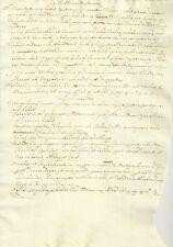 Manoscritto Duca Sabaudia Regno Etruria Storia Toscana Cosimo I de' Medici 1610