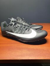 Nike Zoom Rival Mens Black Track & Field Spikes Sprint Racing Shoes Size 10.5