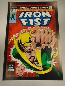 Marvel IRON FIST #8 (2005) Marvel Legends Reprint, 1st Appearance of Chaka