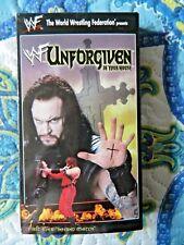 WWF Unforgiven In Your House 1998 (VHS, 1998, Undertaker, Steve Austin, Kane)