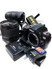Nikon D60 Digital SLR Camera Kit (with 18-105mm VR Lens, 2 batteries, 4GB SD)
