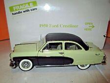 Danbury Mint 1950 Ford Crestliner 1:24 Diecast in Box