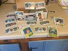 1980 TOPPS COMPLETE YOUR SET U-PICK 40 PICKS FOR  $ 2.50