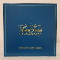 Great Vintage 1983 Original Trivial Pursuit Master Board Game Genus Edition Used