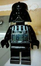 Lego Star Wars Darth Vader digital alarm clock