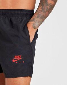Men's Nike Football Swiming GymTraining Short With Net Inside & Side Zip Pockets