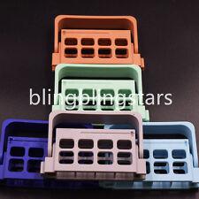 Dental Endo Box Holder Endodontic Instrument Endo Block Organizer Box 16 Holes