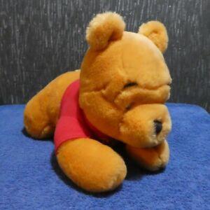LYING DOWN DISNEY WINNIE THE POOH SOFT PLUSH BEAR