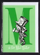 Alice In Wonderland Greeting Cards. M - X. Lewis Carroll (Other Letters Avail.