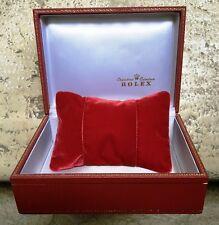 Rolex ultra rare tapestry watch box case 50/60's 60.00.2 etui uhr-Box boîte
