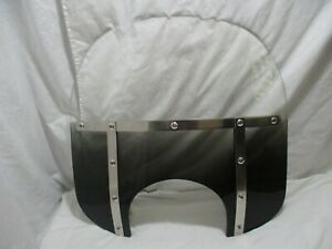 MEMPHIS SHADES FAT GRADIENT BLACK WINDSHIELD FOR 14-17 FXDL MODELS