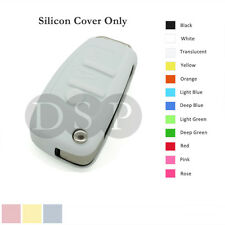 Silicone Cover fit for AUDI Folding Flip Remote Key Fob Case Entry 3 Button WT