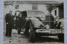 Mercedes-Benz 770 - La voiture d'Hitler - Photo AFP - 1963
