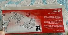 Transformers ARMADA LASERBEAK INSTRUCTION BOOKLET ONLY AUTHENTIC