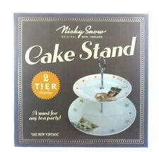 Nicky Snow 2 Niveles Pastel Soporte De Pantalla