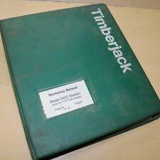 Timberjack 240c Skidder Service Repair Shop Manual book overhaul guide series
