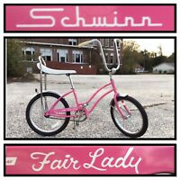 Schwinn Fair Lady 125th Anniversary Pink Dealer Sting Ray Stingray Bike Bicycle