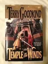 Sword of Truth: Temple of the Winds by Terry Goodkind (1997, Hardcover) 1st/1st