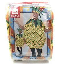 smiffys Adult Unisex Pineapple Costume Fruit Summer Festival with Headband NEW