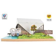 YM966 Diorama Series - Korean TV Drama Secret Garden Wooden Model Kit