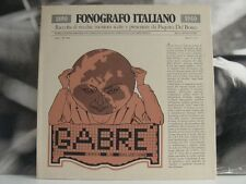 GABRE' - CERCA LA SOLUZIONE ( FONOGRAFO ITALIANO ) LP EX / NM GATEFOLD COVER