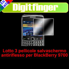 BATCH 3 FILM SCREENSAVER LCD BLACKBERRY 9700 BOLD