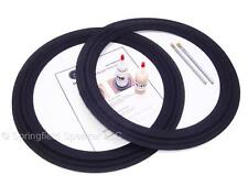 "2 Cerwin Vega FH18A 18"" Speaker Cloth Repair Kit - M-Roll - 2L18-P300"