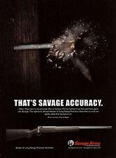 2011 SAVAGE Advertisement~Model 12 Long Range Varminter RIFLE AD ADVERTISING