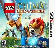 LEGO LEGENDS OF CHIMA:LAVALS JOURNEY 3DS ACT NEW VIDEO GAME
