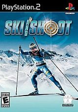 Ski and Shoot (Sony PlayStation 2) Complete & Very Good condition!
