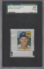 1969 Topps Decals Frank Howard SGC 6 EX/NM