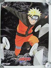 Naruto Shonen Jump Poster NYCC Comic Con Viz Media MINT