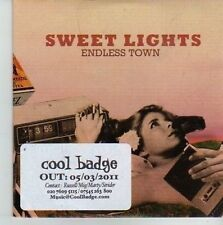 (CV450) Sweet Lights, Endless Town - 2011 DJ CD