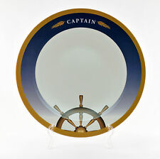 "Decorated Melamine 12"" Platters (6 Count) - Captain Collection"