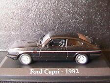 FORD CAPRI 2.8 INJECTION 1982 NOIR RBA COLLECTABLES 1/43 BLACK NOIRE