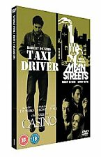 Taxi Driver/Casino/Mean Streets (DVD, 2007, 3-Disc Set, Box Set) Brand New