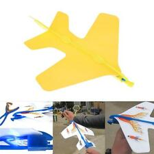 DIY Foam Elastic Powered Glider Plane Thunderbird Flying Model Aircraft Toy