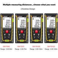 120M Hand-Held Digital Medidor de distancia del punto láser medida telémetro Cinta Nuevo