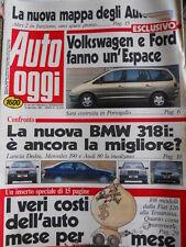 Auto OGGI n°214 1991 BMW 318i contro Audi 80 2.0 Dedra 2.0 e 190 E [Q202]