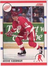 1990-91 Score Steve Yzerman #3 NM-MT