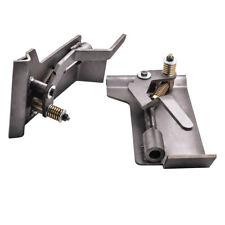 2x Universal Weld-On Skid Steer Quick Tach Conversion Adapter Für Latchbox