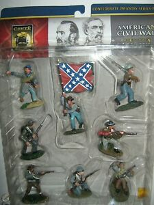 Conte collectibles A C W confederates set 2 mint in box painted 2003 in 8 poses
