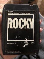 ROCKY - ORIGINAL MOVIE SOUNDTRACK 1976 8-track - UA-~PLAY TESTED ~SANITIZED